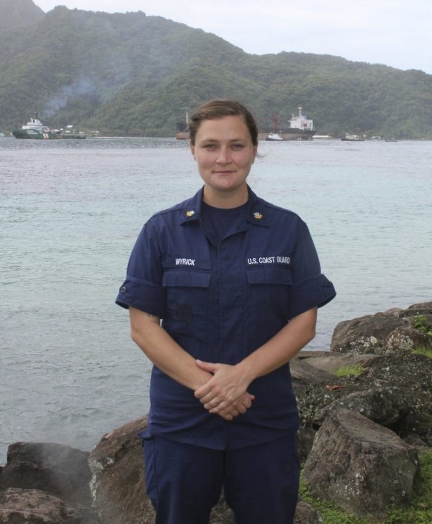 amanda wyrick US coast guard