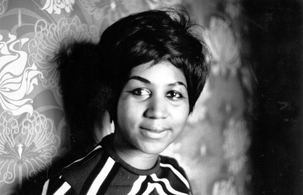 Aretha Franklin, star on the Atlantic record label