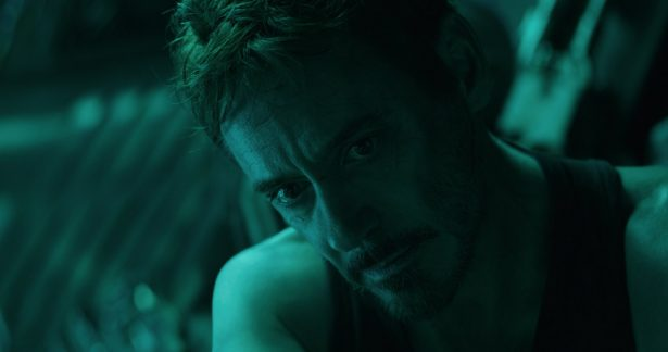 "Robert Downey Jr. in a scene from ""Avengers: Endgame."