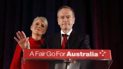 Shorten Stands Down as Labor Leader