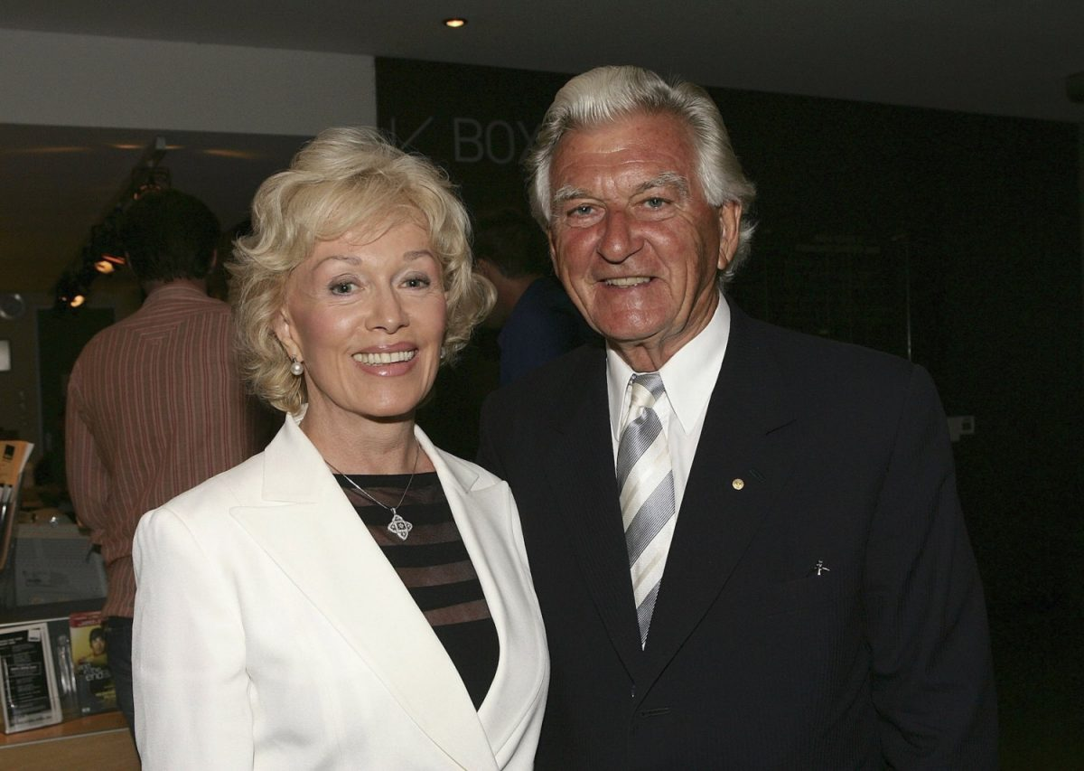 bob hawke and wife