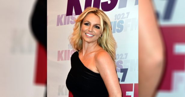 Singer Britney Spears on red carpet