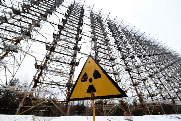 chernobyl radiation sign