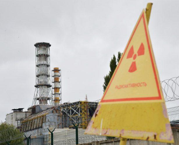 chernobyl destroyed reactor