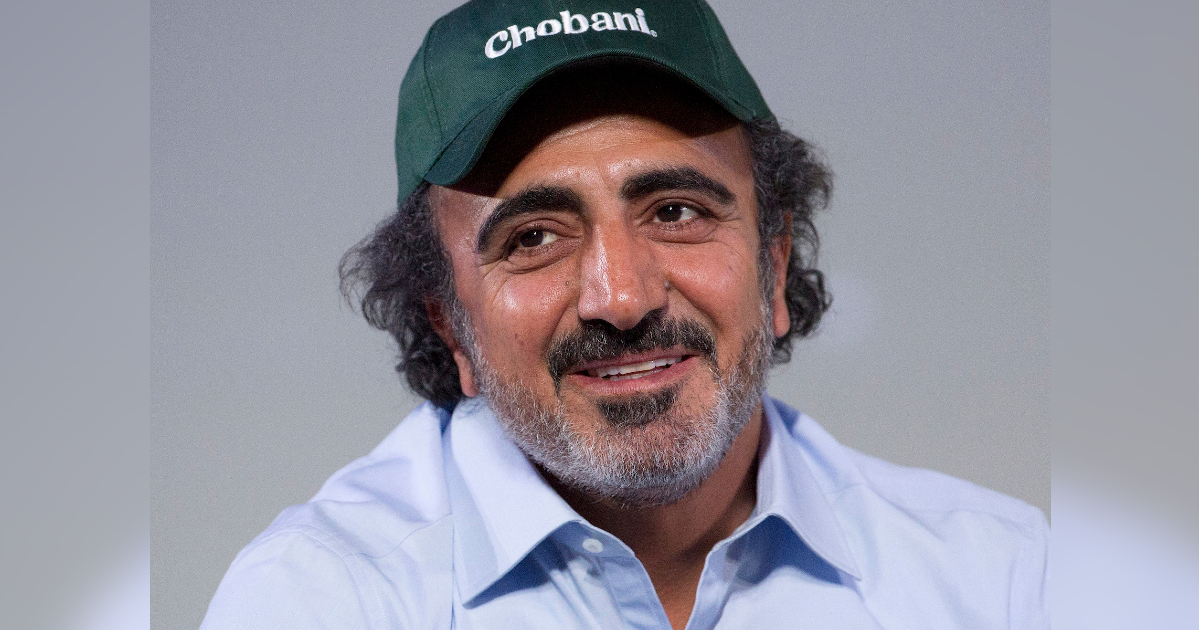chobani founder Hamdi Ulukaya