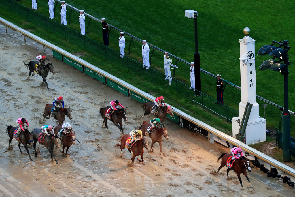 stewards review disqualified Maximum Security