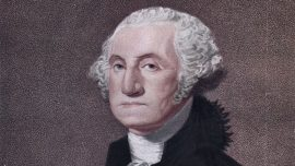 George Washington Monument in Baltimore Vandalized
