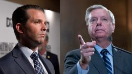 Sen. Lindsey Graham Says Donald Trump Jr. Should Ignore Subpoena