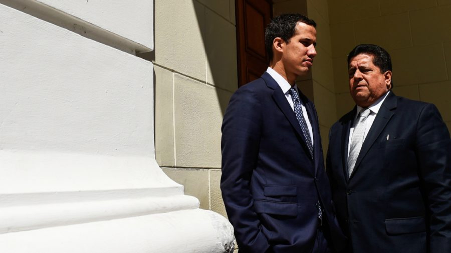Venezuela's Guaido Says Intelligence Agents Have 'Kidnapped' the Vice President
