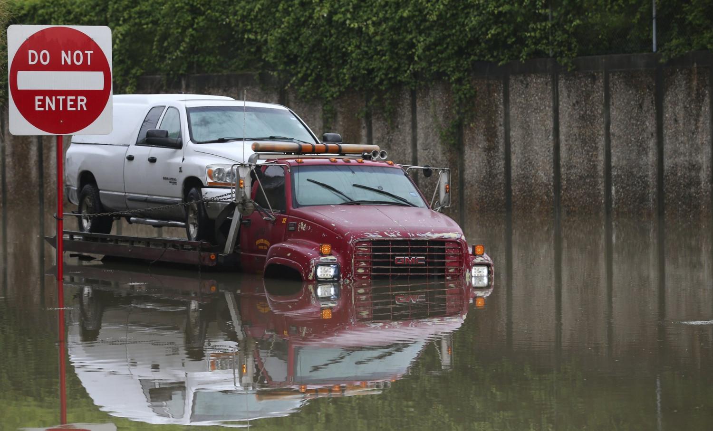 houston rain storm flood
