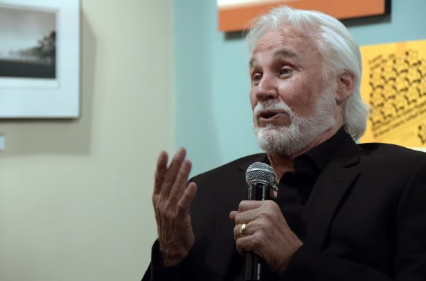 Country Music Hall of Fame member Kenny Rogers at the Country Music Hall of Fame