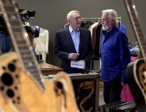 Dan Rather interviews Kenny Rogers at The Country Music Hall of Fame and Museum