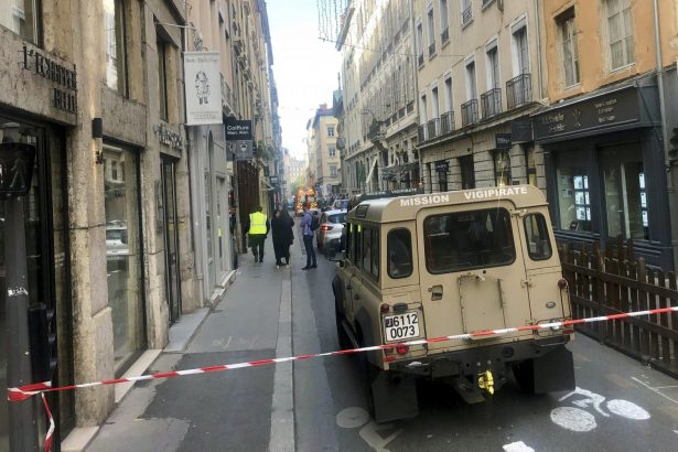 lyon bomb attack security