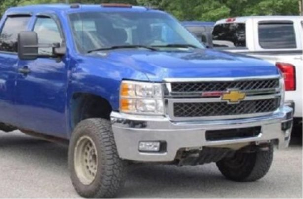 Truck similar to the one involved in the abduction of Maleah Davis