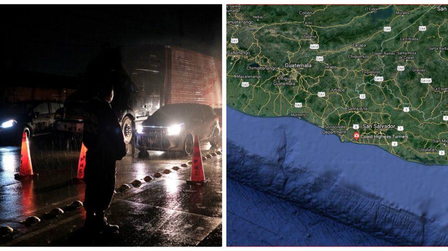 Magnitude quake hits off coast of El Salvador