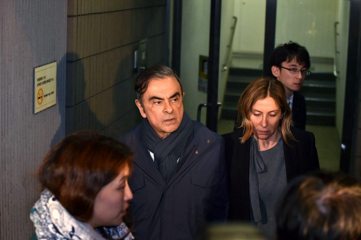 nissan scandal Carlos Ghosn arrested