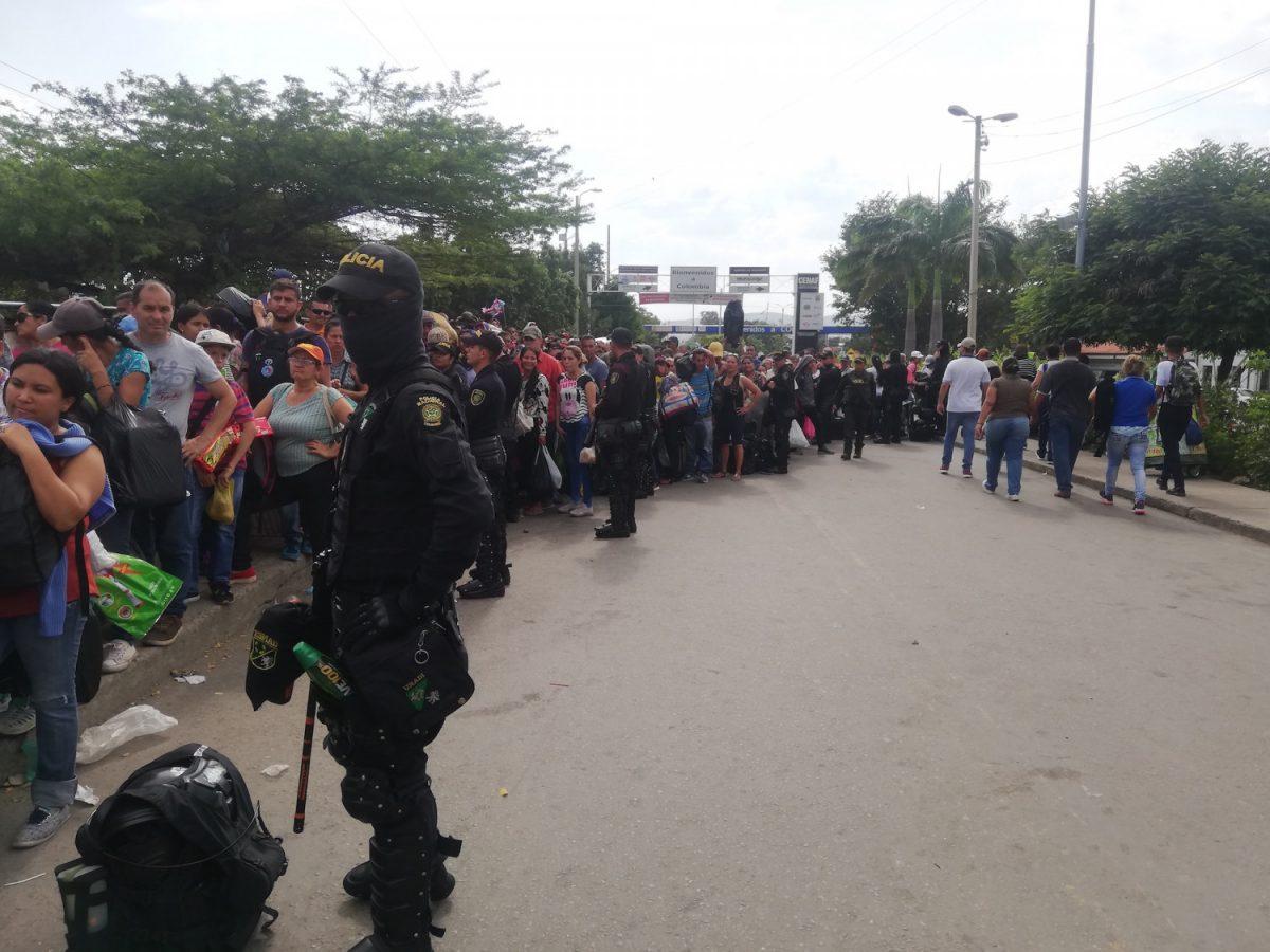 venezuela colombia border