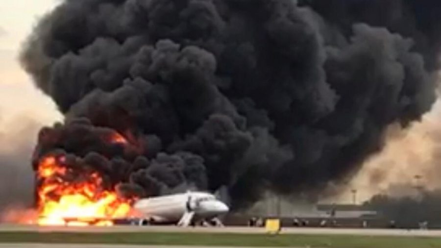 Terrifying Footage From Inside the Deadly Russian Plane Crash