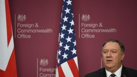 Pompeo Warns UK About Huawei