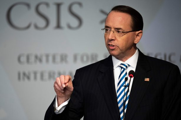 DOJ Emails Reveal Internal Response to 'Wiretap' Allegations Against Rosenstein