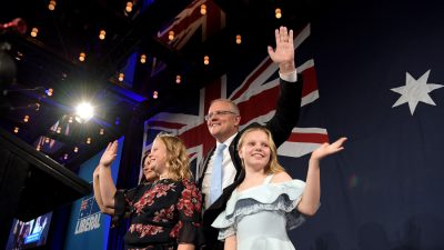 Hero's Welcome for Morrison on Victory in Australia's Federal Election
