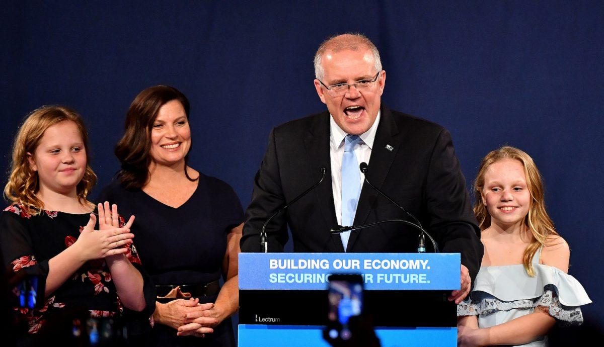 scott morrison prime minister australia
