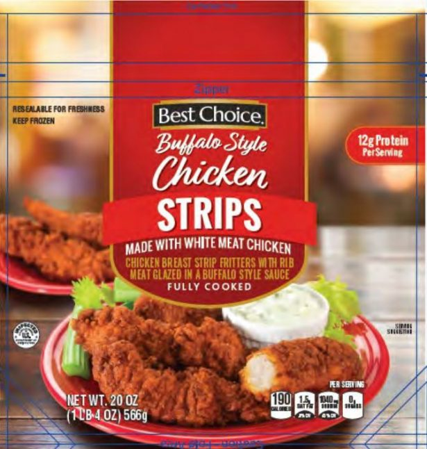 Tyson Foods said on May 4, 2019, that it was voluntarily recalling over 1 million pounds of chicken strips