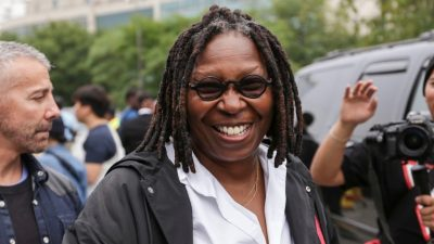Whoopi Goldberg Breaks Into Laughter While Talking About NYC Mayor Bill de Blasio on National TV, Again