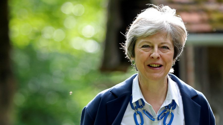 End of May, Britain's PM Steps Down as Conservative Leader