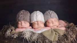 Triplets Make Their Mark on Social Media