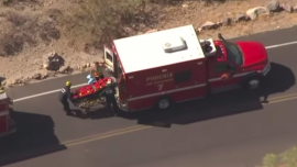 Rescue of Injured 74-Year-Old Hiker Spins out of Control