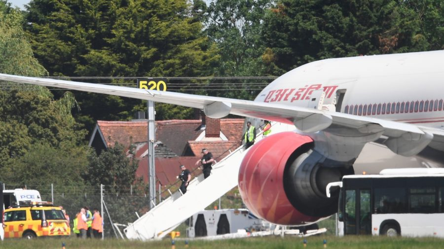 Air India Flight to US Makes Emergency Landing in UK After Bomb Threat