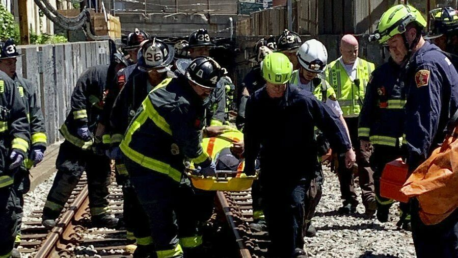 9 Hospitalized When Subway Car Derails in Boston