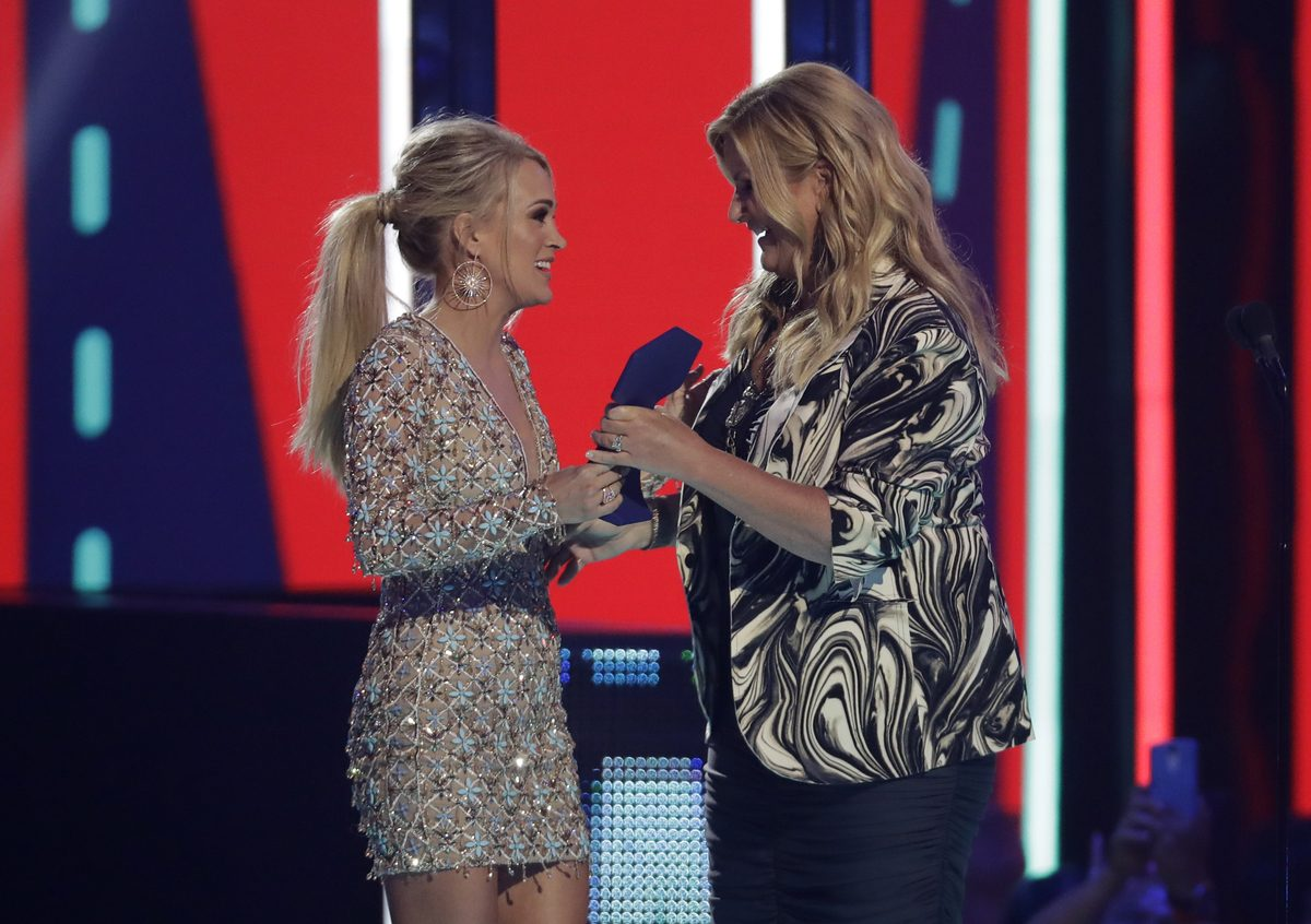 Carrie Underwood received the 2019 CMT Award