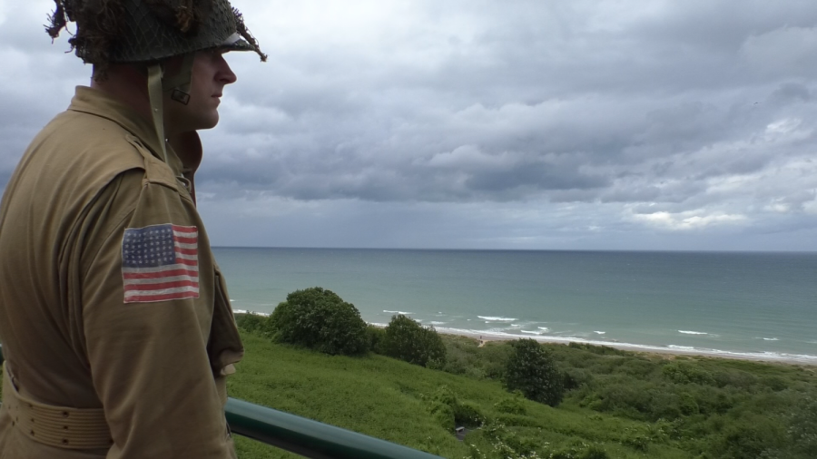 D-Day American Soldiers Remembered at American Cemetery in Normandy