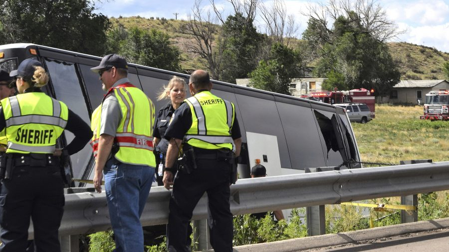 Crash Involving Colorado Bus Carrying Church Group Kills 2, Leaves 13 Injured