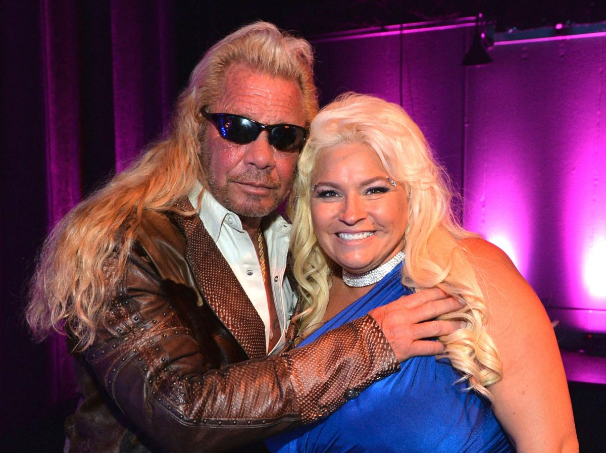 TV personalities Duane Dog Lee Chapman and Beth Chapman attend the 2013 CMT Music Awards