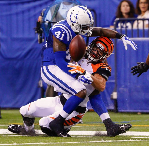 Eric Patterson #41 of the Indianapolis Colts