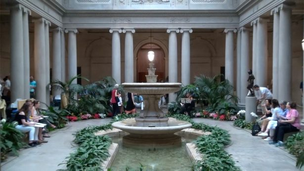 First Friday The Frick Collection - garden court