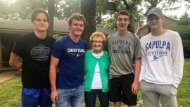 4 Teens Rushed Into a Burning Home to Try to Save a 90-Year-Old Woman