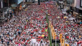 Over 1 Million Take to Streets of Hong Kong in Protest of Extradition Bill