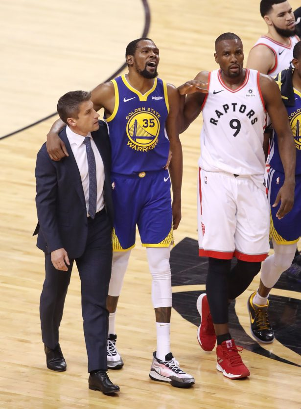 Doctor Slams Narrative About Surgery for Warriors Star Kevin Durant