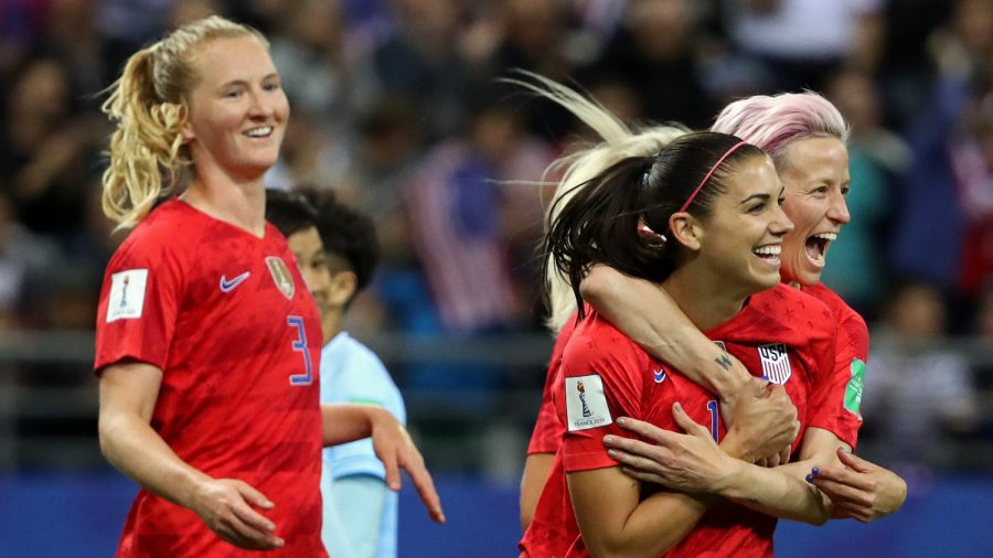 Morgan scores five as United States of America  open World Cup defence with record victory