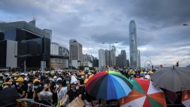 Hong Kong Protest Leaders Harassed Ahead of Anniversary March