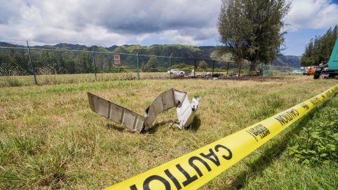 Feds Probe 'Quality' of Repairs on Plane in Hawaii Crash