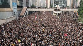 Chinese Authorities Detain Netizens Who Express Support for Hong Kong Protests