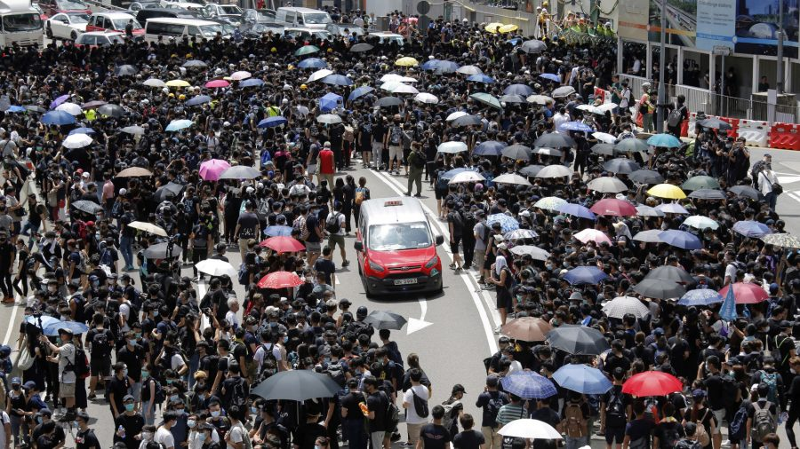 Civil Human Rights Front to Hold G20 Rally Against Hong Kong Extradition Bill