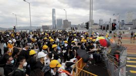 Hong Kong Protests Start Early on Handover Anniversary, March Scheduled For Afternoon