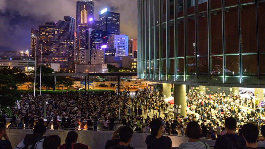 Hong Kong Anti-Extradition Protesters Rally Again Near Government Offices