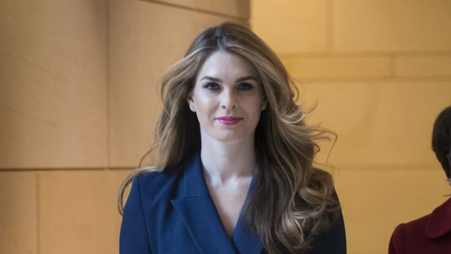 Former Trump adviser Hope Hicks returns to the White House